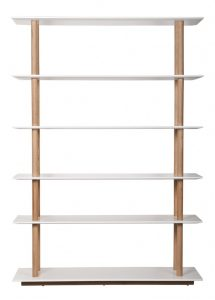 Lentyna HIGH ON WOOD BOOKSHELF