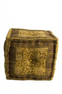 Taburetė INDIAN BLOCK POUF